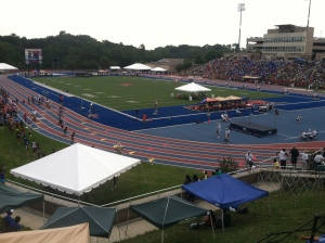 2012 USATF Junior Olympic  Championships at Morgan State